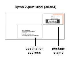 Dymo + Endicia Internet Postage Labels
