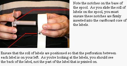 How to load a roll of Labels into your Dymo LabelWriter