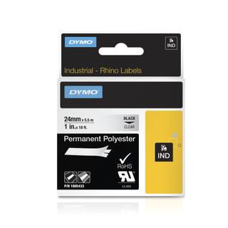 Dymo Rhino 1805433 Clear Permanent
