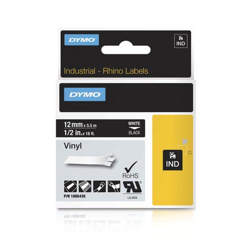 Dymo Rhino 1805435 Black Vinyl
