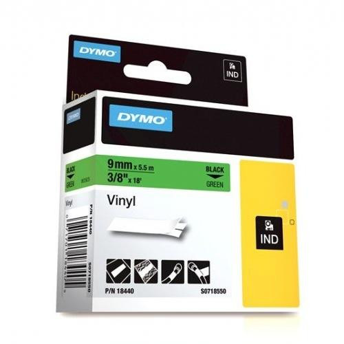 Dymo Rhino 18440 Green Vinyl Labels