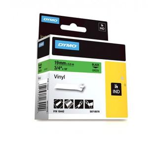 Dymo Rhino 18442 Green Vinyl Labels