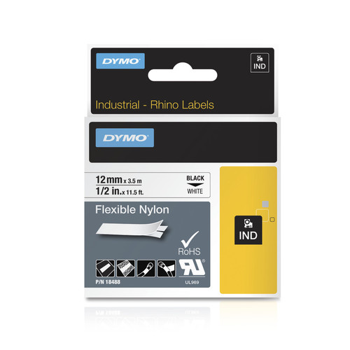 Rhino 18488 Flexible Nylon Labels