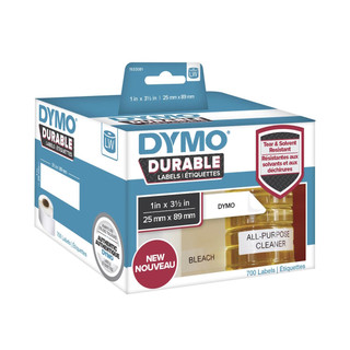 Dymo 1933081 Durable Labels