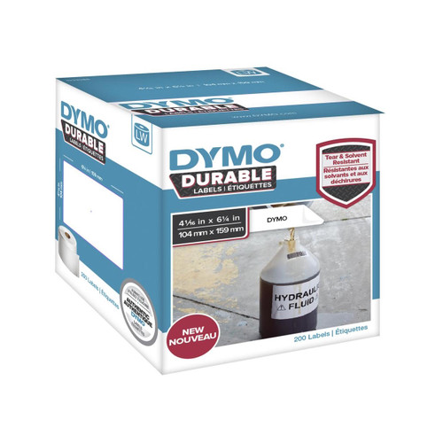 Dymo 1933086 Durable Labels