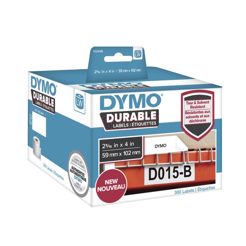 Dymo 1933088 Durable Labels