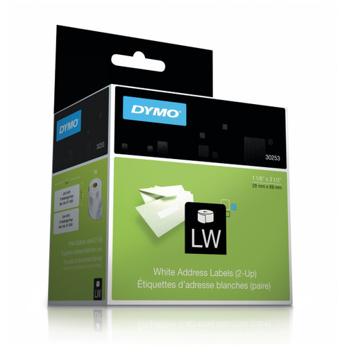 Dymo 30253 Address Labels 2up