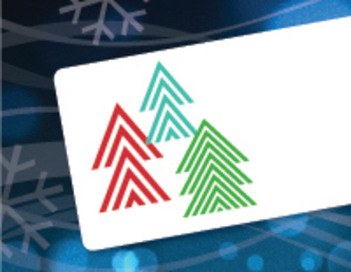 Dymo 30393 Christmas Tree Labels