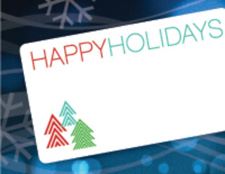 Dymo 30397 Happy Holidays Labels