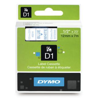 Dymo 45014 D1 Label Blue on White