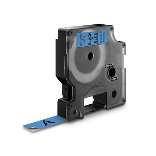 Dymo 45016 D1 Label Tape Black Blue