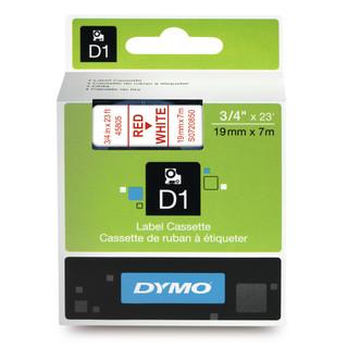 Dymo 45806 D1 Label Tape Black Blue