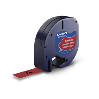Dymo 91333 LetraTag Red Label
